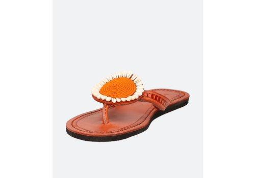 ISHOLA Sandalen Nu-pieds JUA orange