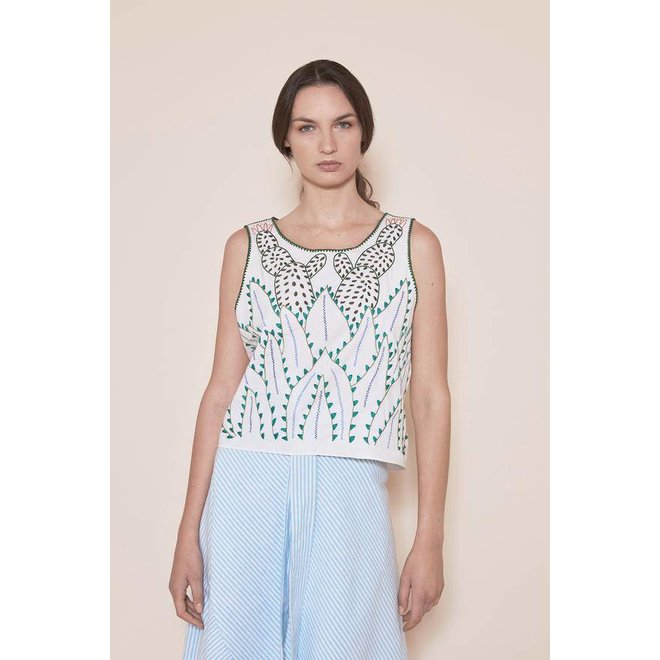 "BLUSA ""THE MATORRAL TOP"" DE MEXIKO"