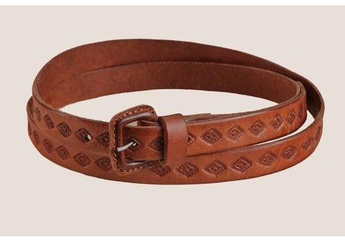 "Santa Lupita LEATHER BELT ""THE MOJAVE II""  FROM MEXICO"
