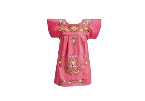 Santa Lupita Kleid The Girl´s Dress Coral