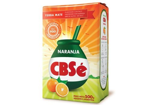 CBSé MATE TEA ORANGE FROM ARGENTINA - 500g