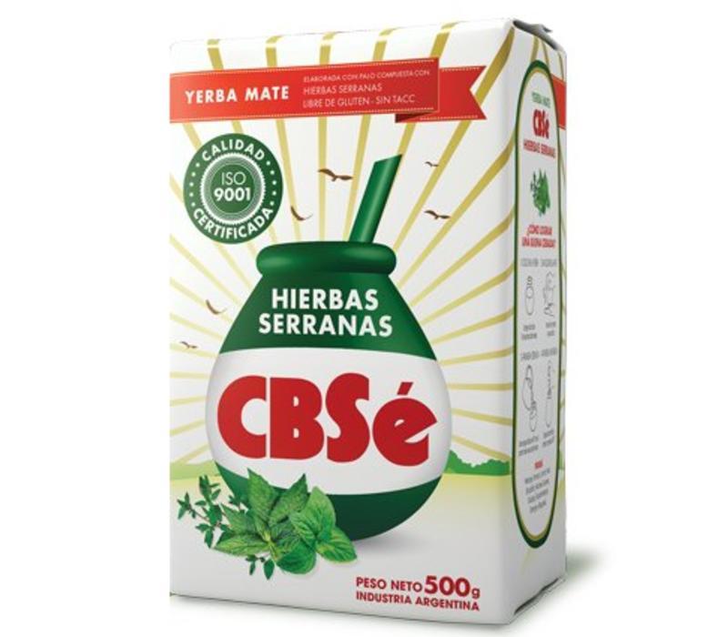 MATE TEA HIERBAS SERRANAS FROM ARGENTINA - 500g