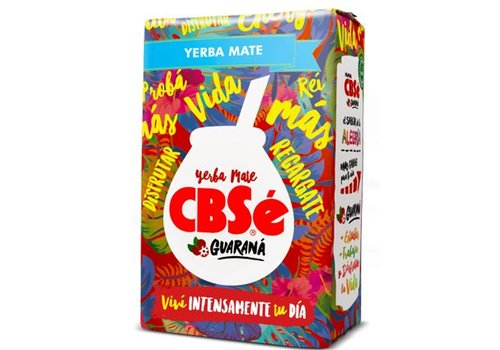 CBSé MATE TEA GUARANÁ FROM ARGENTINA - 500g