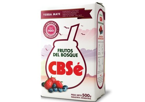 CBSé MATE TEA FRUTOS DEL BOSQUE  FROM ARGENTINA - 500g