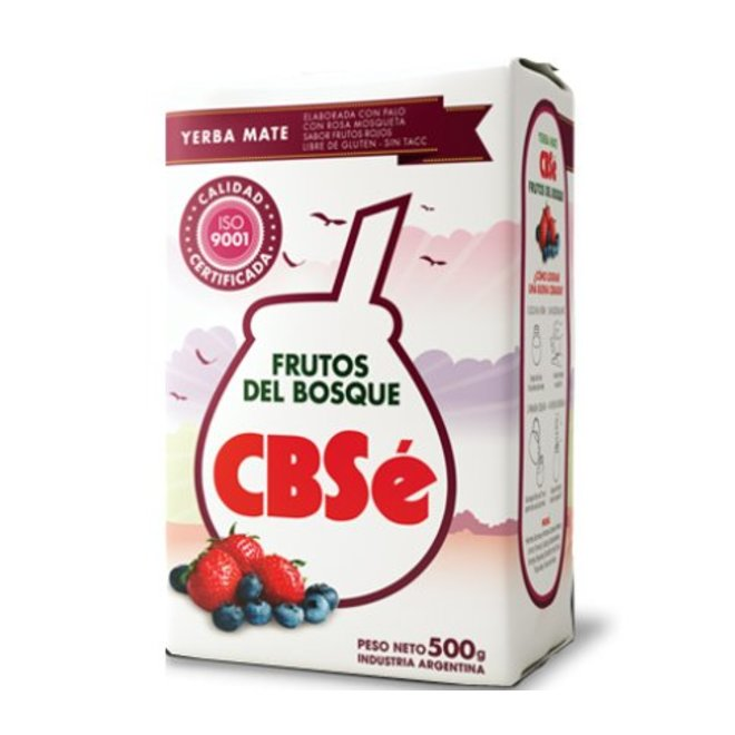 MATE TEE  FRUTOS DEL BOSQUE - 500g - ARGENTINIEN