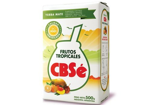 CBSé MATE TÉ FRUTOS TROPICALES ARGENTINO - 500g