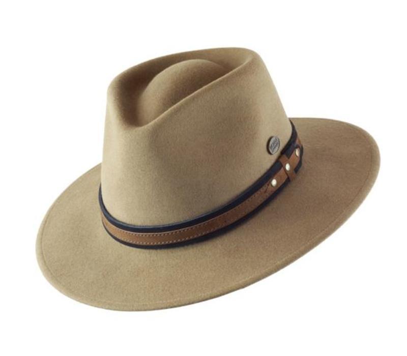 "HAT ""OUTDOOR"" WOLL FELT FROM ECUADOR  - CAMEL"
