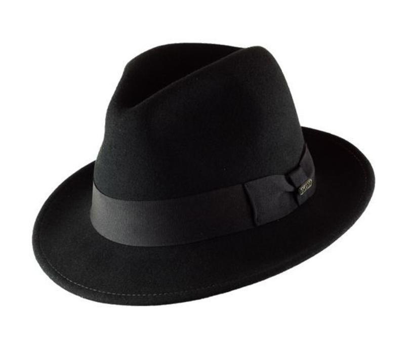"HAT ""MILANO"" FILZWOLLE FROM ECUADOR - BLACK"