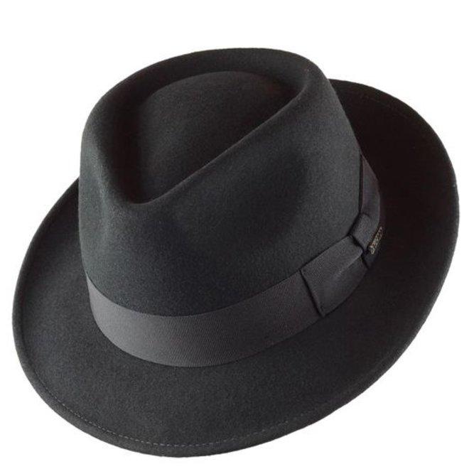"""HAT """"QUICK STEP"""""""" WOLL FELT FROM ECUADOR  - GREY"""