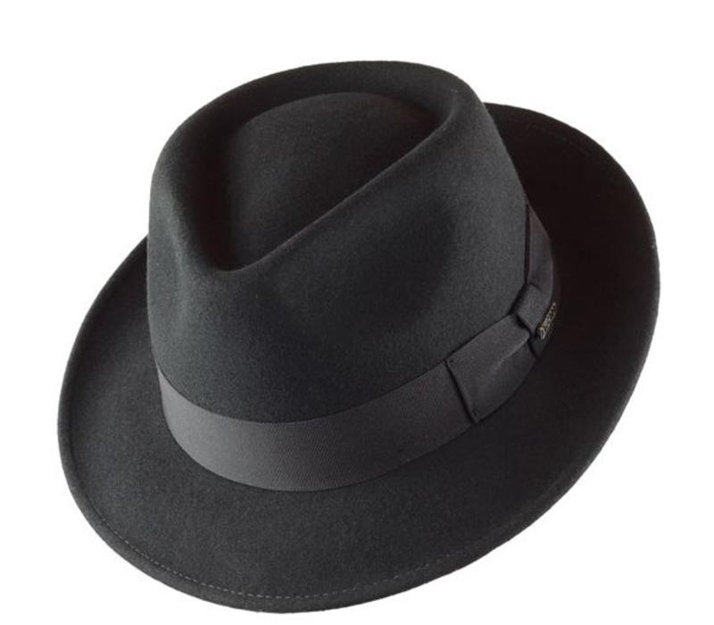 "HAT ""QUICK STEP"""" WOLL FELT FROM ECUADOR  - GREY"