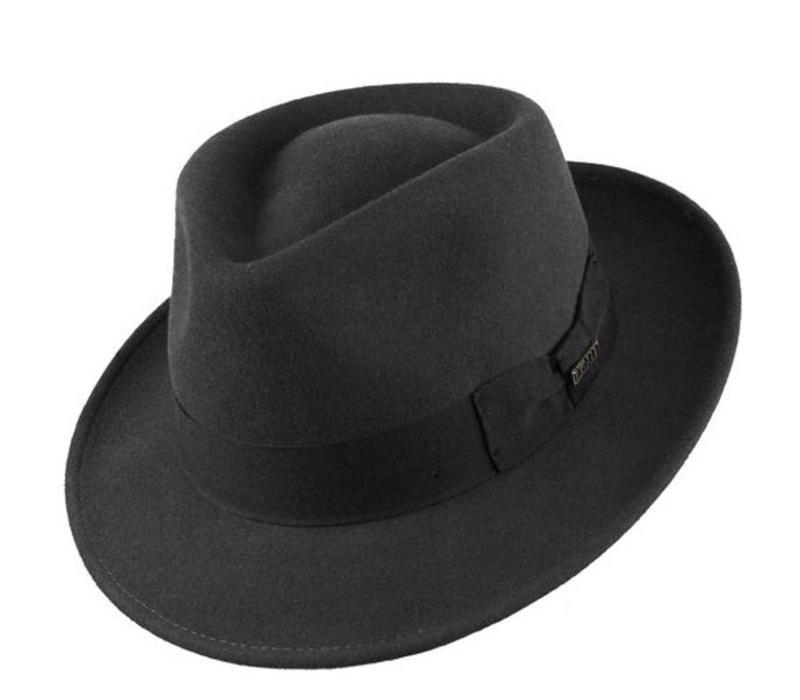 "HAT ""QUICK STEP"""" WOLL FELT FROM ECUADOR  - BLACK"