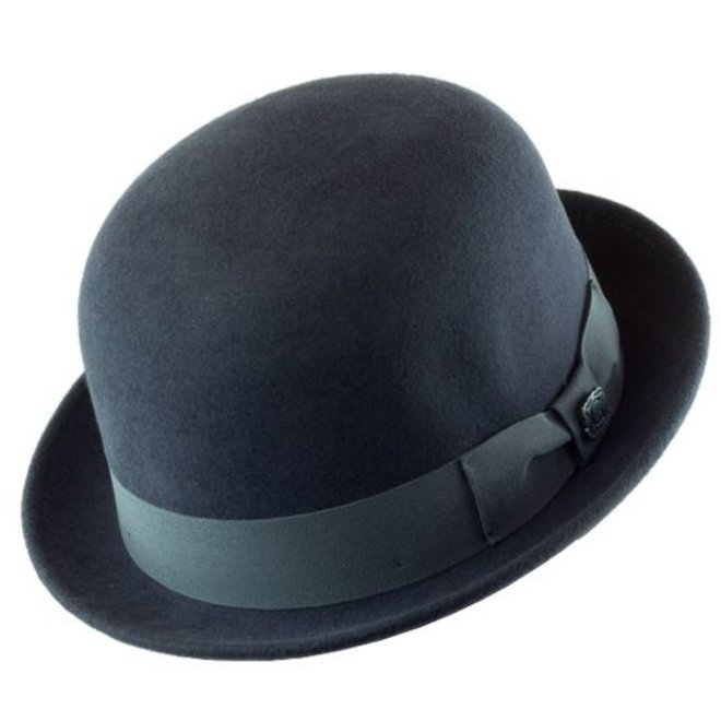"""HAT """"DERBY"""""""" WOOL FELT FROM ECUADOR - DARK GREY"""