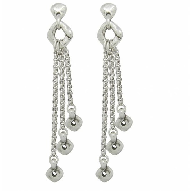 OHRRINGE METALL SILBER, COLLECTION PARADISE WOMEN, REF. 181615
