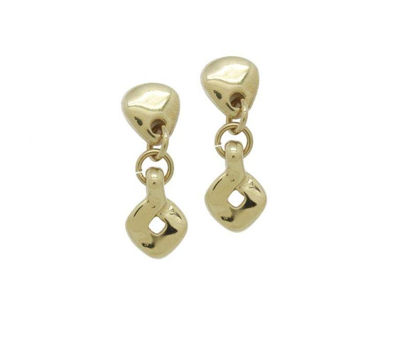 EARRINGS GOLD PLATED, COLLECTION PARADISE, REF. ORO628