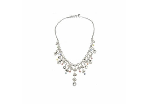 Ciclon NECKLACE METAL & MURANO CRYSTALS MULTICOLOR, COLLECTION PARADISE, REF. 181831-00