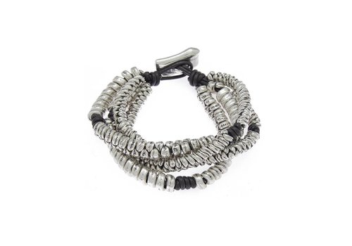 Ciclon BRACELET METAL SILVER PLATED, REF. 172109-00-1