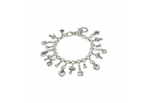 Ciclon BRACELET METAL SILVER PLATED, COLLECTION PARADISE, REF. 181136-00-0