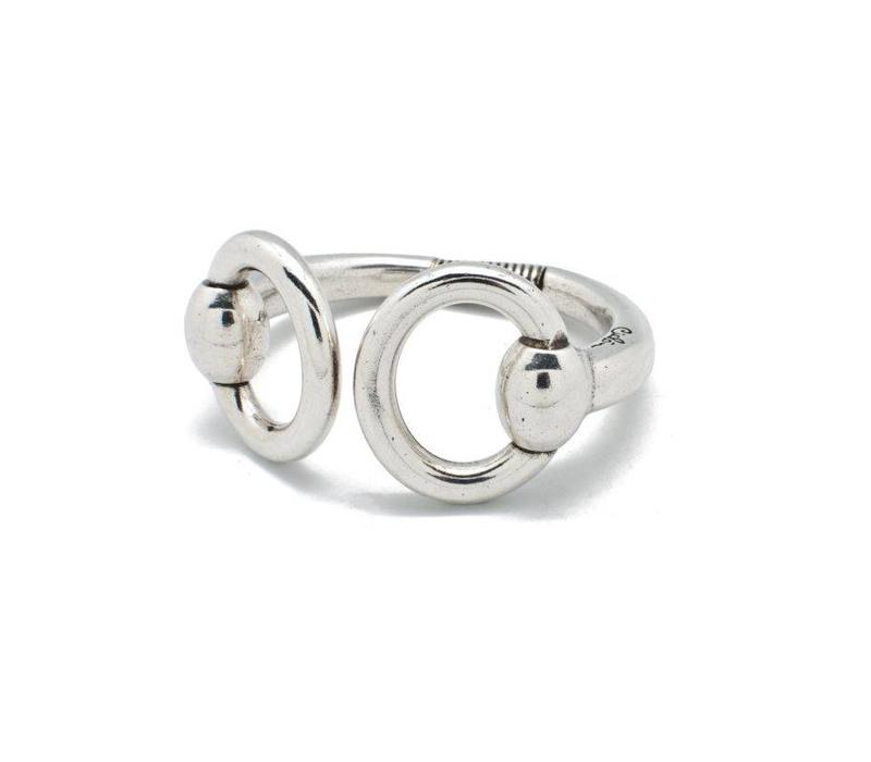 BRACELET METAL SILVER PLATED, COLLECTION ESSENTIALS, REF. 001882