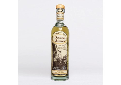 "HERENCIA MEXICANA TEQUILA  AGED AÑEJO ""HERENCIA MEXICANA"" - MEXICO -700 ML"