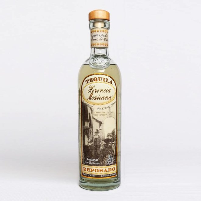 "TEQUILA  AGED  REPOSADO ""HERENCIA MEXICANA"" - MEXIKO -700 ML"