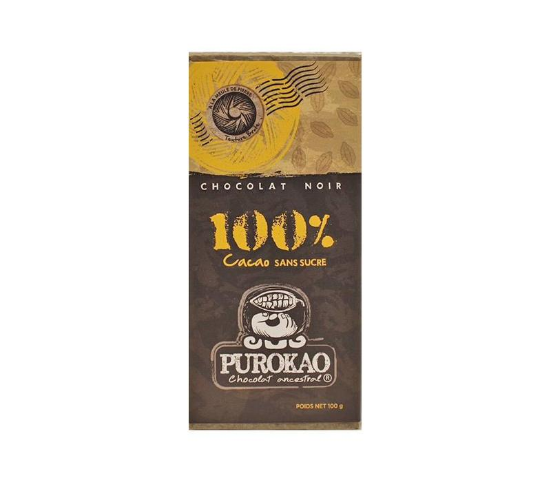 DARK CHOCOLATE 100% COCOA - MEXICO - 100g