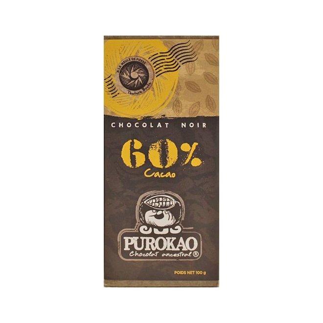 DARK CHOCOLATE 60% COCOA - MEXICO - 100g