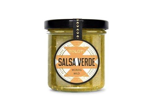 YOLOTL SALSA VERDE - SALSA DE CHILE DE MEXICANO - PICANTE SUAVE (167 ML)