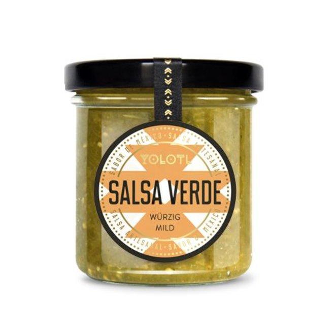 YOLOTL SALSA VERDE - MEXICAN CHILI SAUCE - SPICY MILD (167 ML)