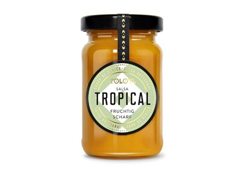 YOLOTL SALSA TROPICAL – FRUTOSA PICANTE  ( 105 ML )