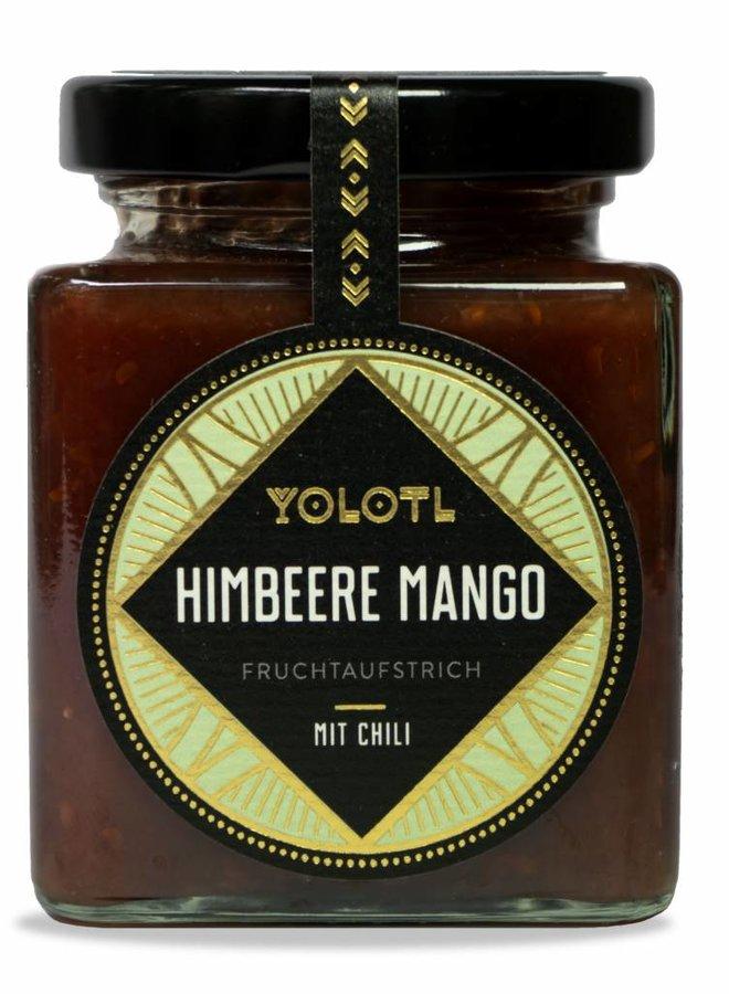 FRUCHTAUFSTRICH HIMBEERE, MANGO MIT HABANERO CHILI ( 212 G )