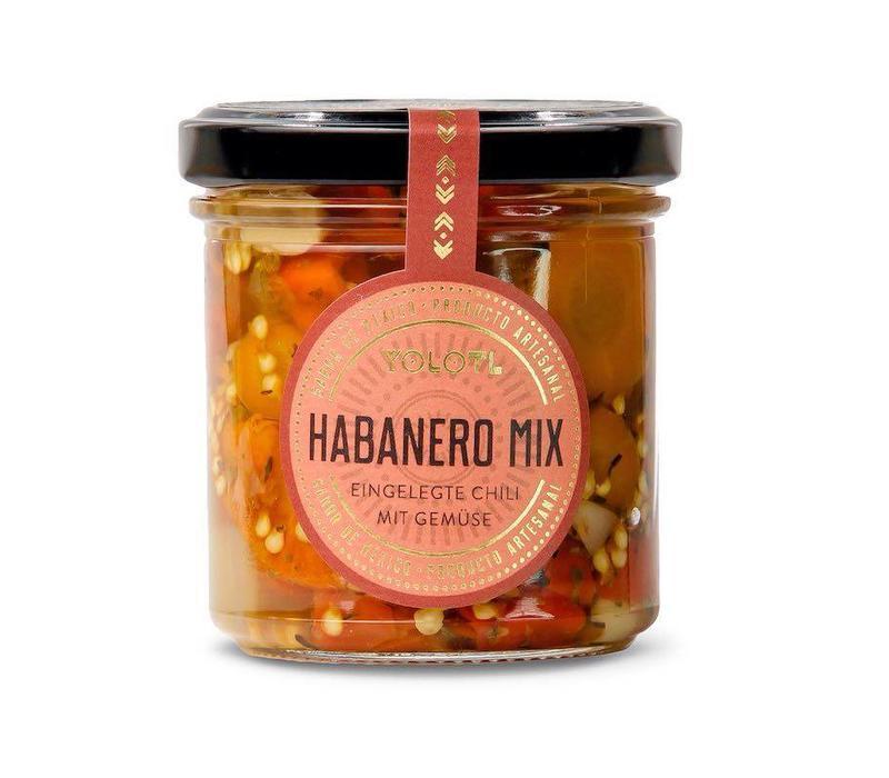 HABANERO MIX - CHILI WITH VEGETABLES (160 ML)
