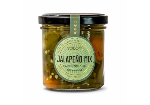Yolotl JALAPEÑO MIX - JALAPEÑO CHILI WITH VEGETABLES  (160ML)