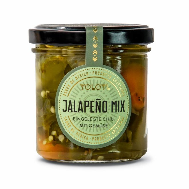 JALAPEÑO MIX - JALAPEÑO CHILI WITH VEGETABLES  (160ML)