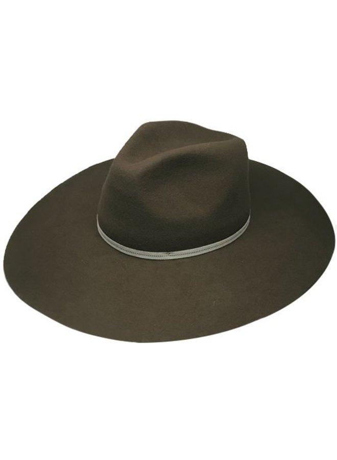"FLOPPY HAT ""MONACO"" FILZWOLLE FROM ECUADOR - BROWN"