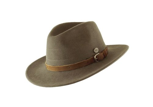 "CAYAMBE HAT ""DISCOVERY"" WOOL FELT AUS ECUADOR -  KHAKI"