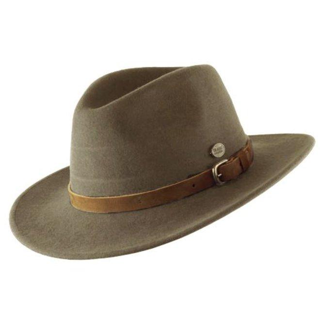 "HAT ""DISCOVERY"" WOOL FELT AUS ECUADOR -  KHAKI"