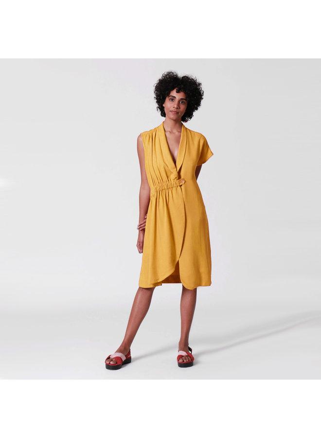 DRESS ASYMMETRICAL AND ELASTIC | BRAZIL | BRASIL