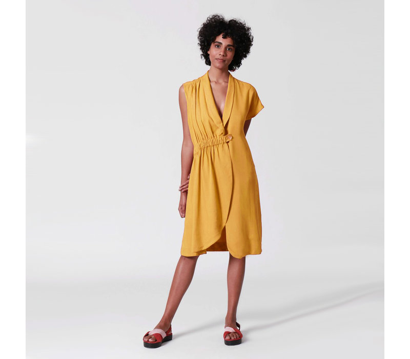 DRESS ASYMMETRICAL AND ELASTIC | BRAZIL | BRASIL