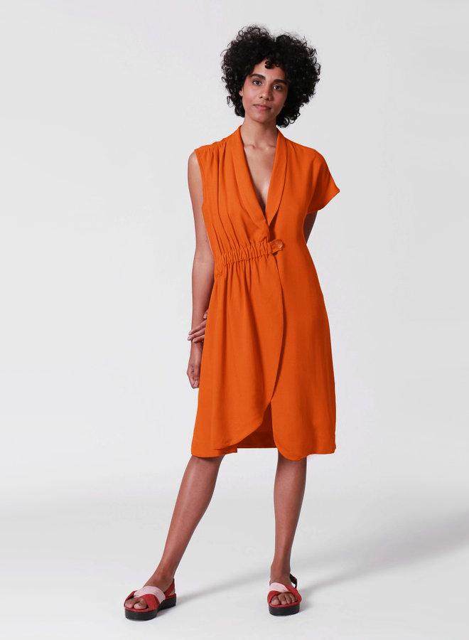 DRESS ASYMMETRICAL AND ELASTIC  MARESIA   BRASIL