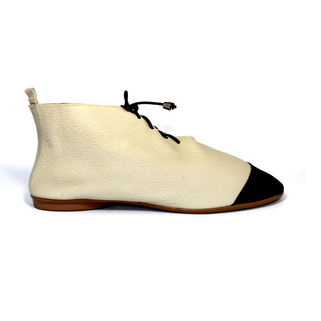 "SHOES ""NICKY"" SOFT LEATHER - SANDY  - BRASIL"