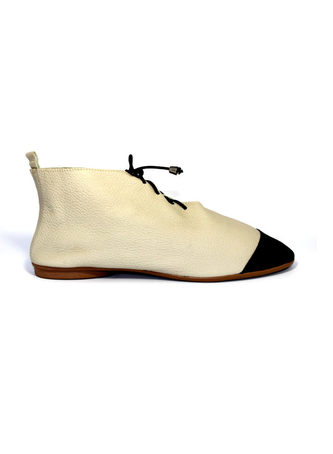 "SCHUHE ""NICKY"" SOFT LEDER - SAND  - BRASILIEN - VOLARE NEW COLLECTION"