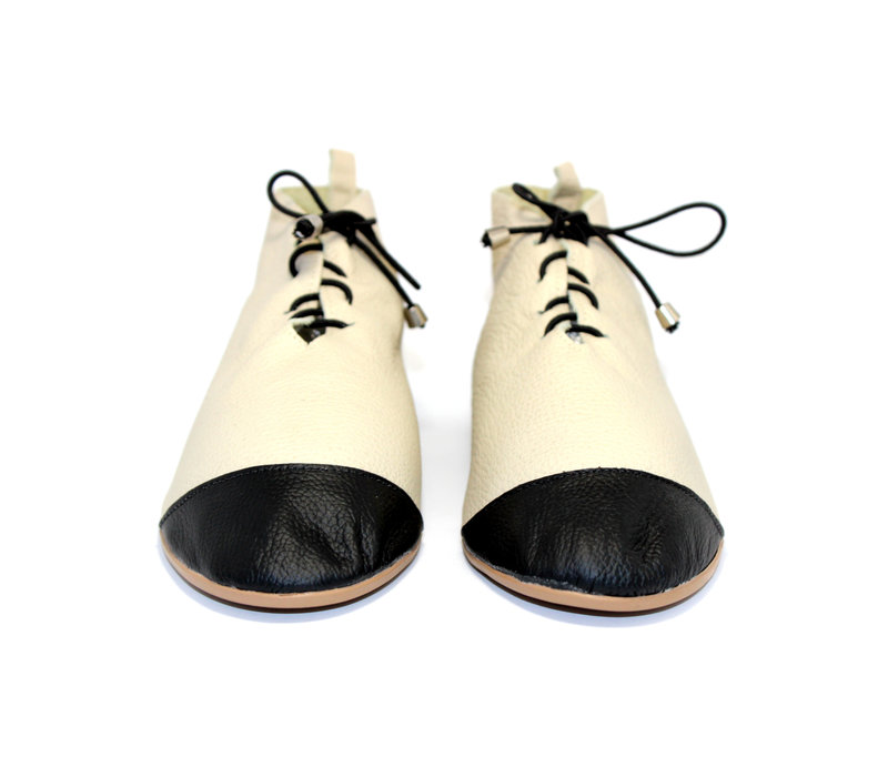 """SHOES """"NICKY"""" SOFT LEATHER - SAND  - BRASIL - VOLARE NEW COLLECTION"""