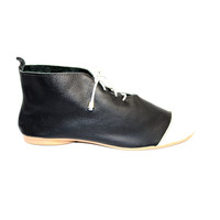 "SCHUHE ""NICKY"" SOFT LEDER - BLACK - BRASILIEN - VOLARE NEW COLLECTION"