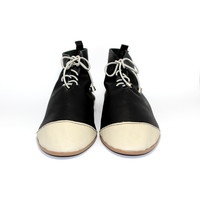 """SHOES """"NICKY"""" SOFT LEATHER - BLACK - BRASIL - VOLARE NEW COLLECTION"""