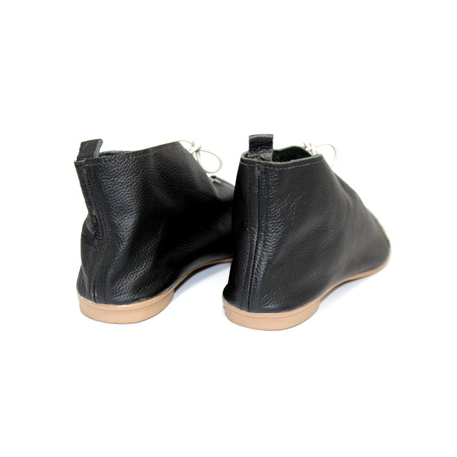 """SHOES """"NICKY"""" SOFT LEATHER - BLACK - BRASIL - VOLARE COLLECTION"""