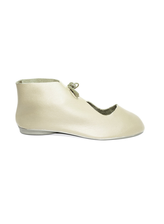"""SHOES """"NORA"""" SOFT LEATHER - SAND - BRASIL"""