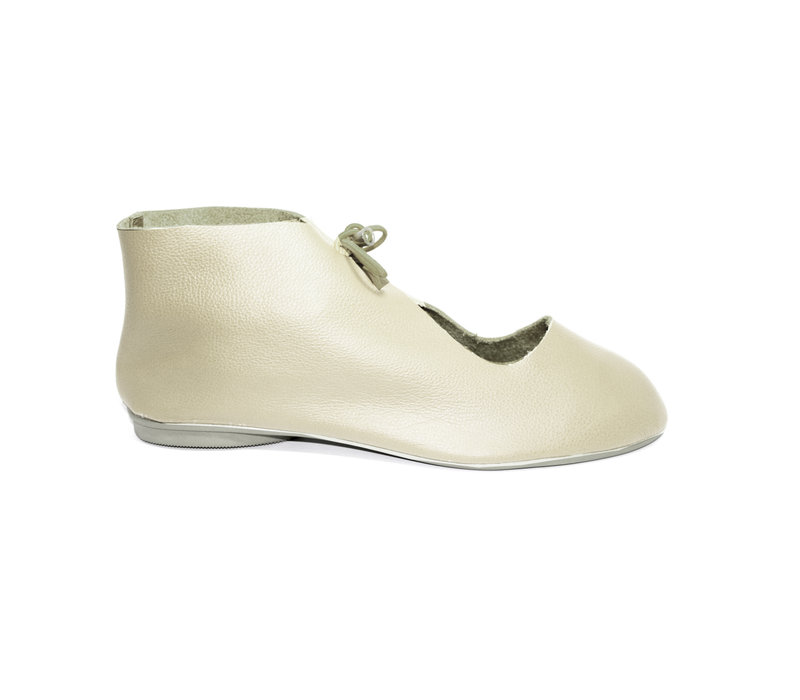 """SHOES """"NORA"""" SOFT LEATHER - SAND -  - BRASIL"""