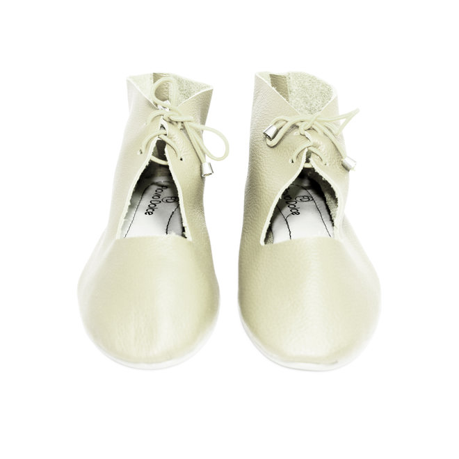 """SHOES """"NORA"""" SOFT LEATHER - SANDY - BRASIL - VOLARE NEW COLLECTION"""