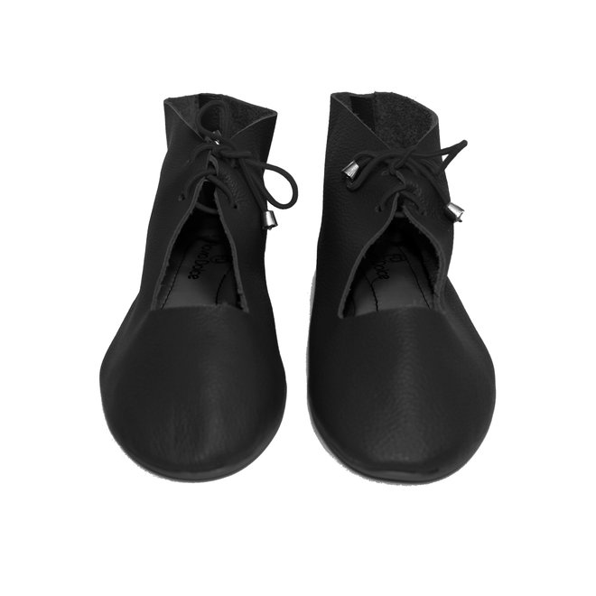"ZAPATOS ""NORA"" CUERO SUAVE - NEGRO   - BRAZIL - VOLARE NEW COLLECTION"
