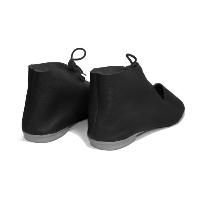 """SHOES """"NORA"""" SOFT LEATHER - BLACK - BRASIL - VOLARE NEW COLLECTION"""